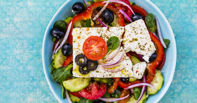 Healthy Greek-ish Salad